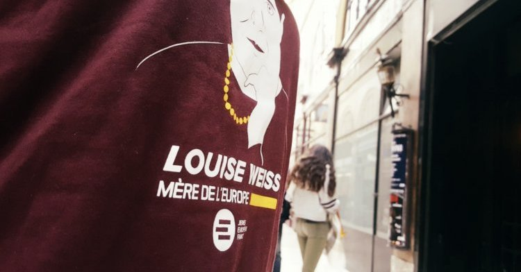 Louise Weiss, a life dedicated to European construction