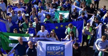 Letter to Europe : Let's get cracking – Europa machen !