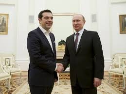Tsipras meets Putin : smart manœuvring or useless provocation ?