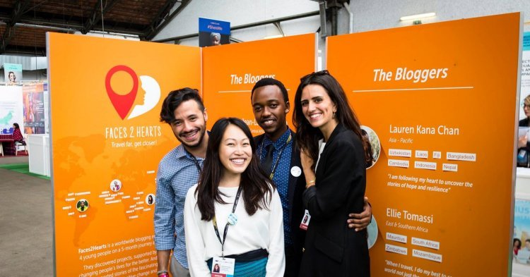 Covering international development: Interview with the Faces2Hearts bloggers by EuropeAid