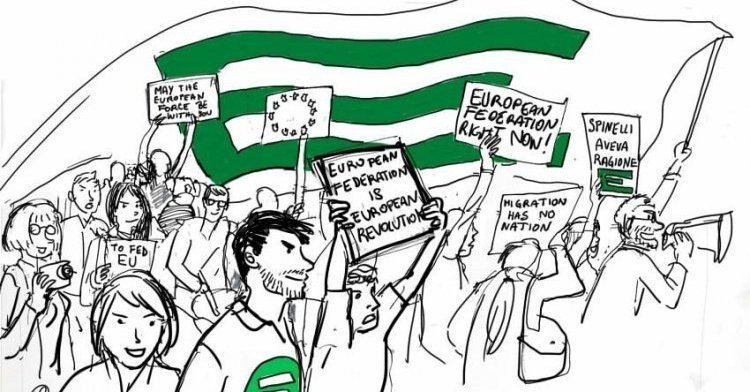 Towards the European elections : The courage to exist... and to resist