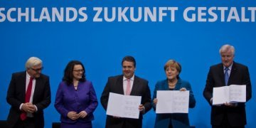 Of the European ideas of the new German Government