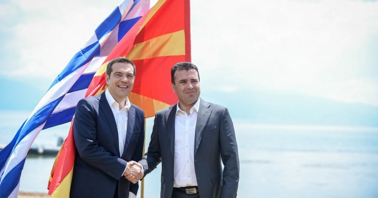 The Prespes Agreement as Tsipras' Achilles heel