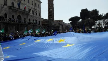 March of Europe in Rome : An Awakening of Civil Society