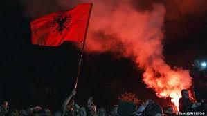 Serbia vs. Albania football game displays identity and political struggles
