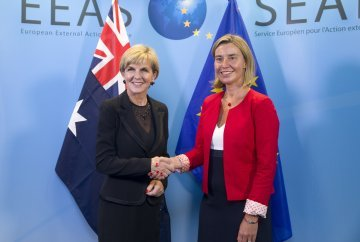 Following five successful Eurovision performances, EU accession talks begin for Australia