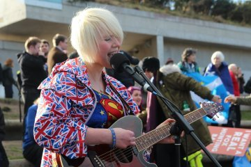 Anti-Brexit superhero Madeleina Kay : 'You don't know what you have until it's taken away from you'