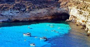 The most remote places of the EU : Lampedusa