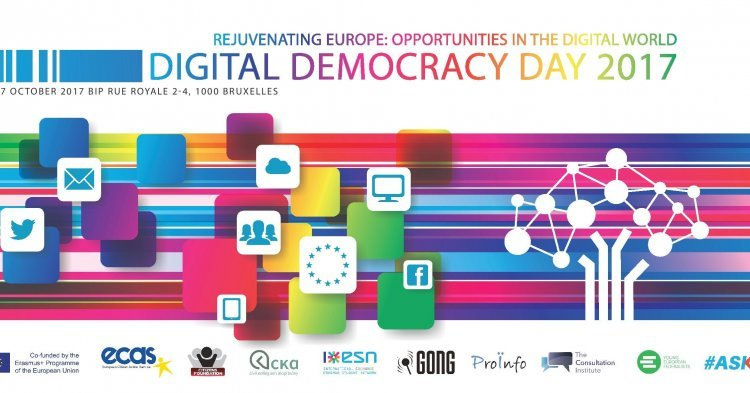 "Digital Democracy and JEF's International Seminar ""Digital Youth – What's Ahead of Us"""